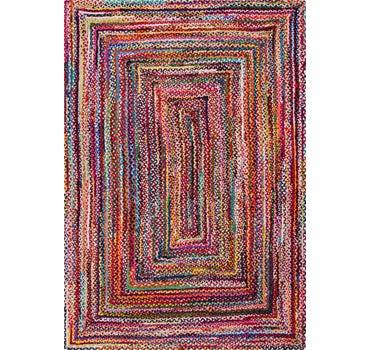 7' x 10' Braided Chindi Rug main image
