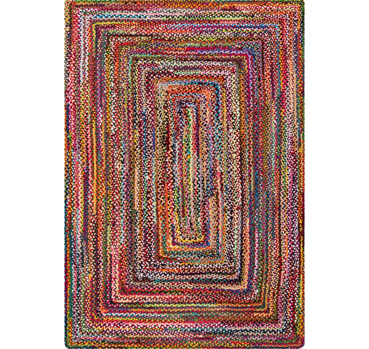 Image of  Multi Braided Chindi Rug