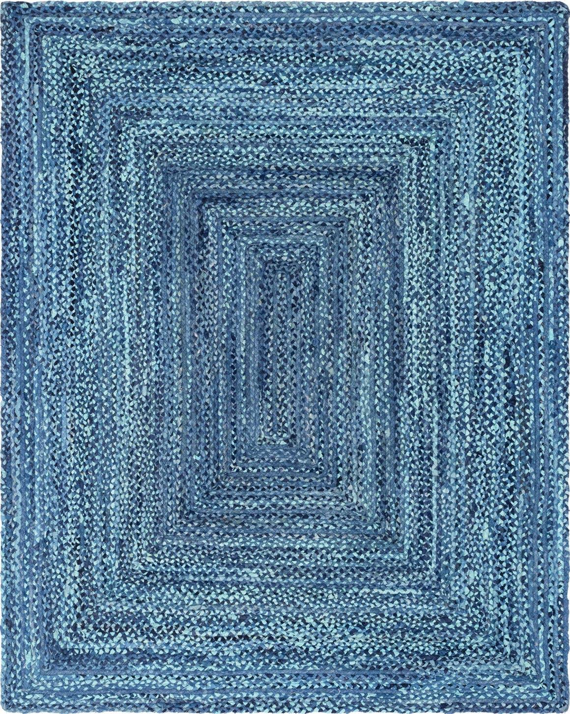 8' x 10' Braided Chindi Rug main image