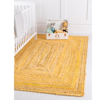 8' x 10' Braided Chindi Rug main image