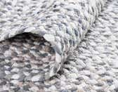 5' x 8' Braided Chindi Oval Rug thumbnail