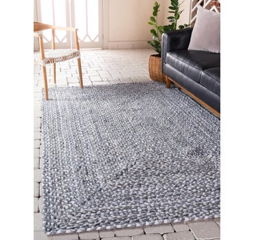 4' x 6' Braided Chindi Rug main image