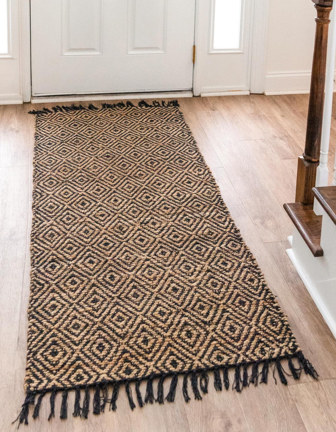 2' 2 x 10' Braided Jute Runner Rug main image