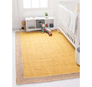 4' x 6' Braided Jute Rug main image
