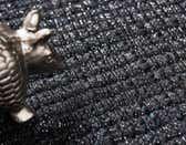 2' 6 x 6' Metallic Jute Runner Rug thumbnail