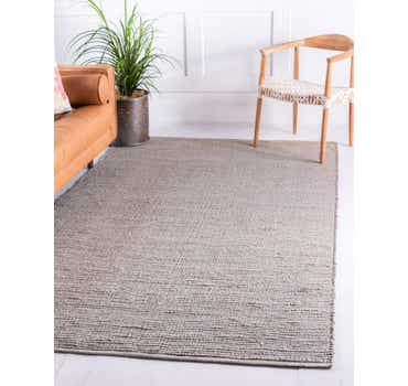 Image of  Gray Gilded Jute Rug