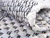 2' 6 x 6' Chindi Cotton Runner Rug thumbnail