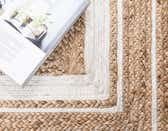 2' 6 x 6' Braided Jute Runner Rug thumbnail