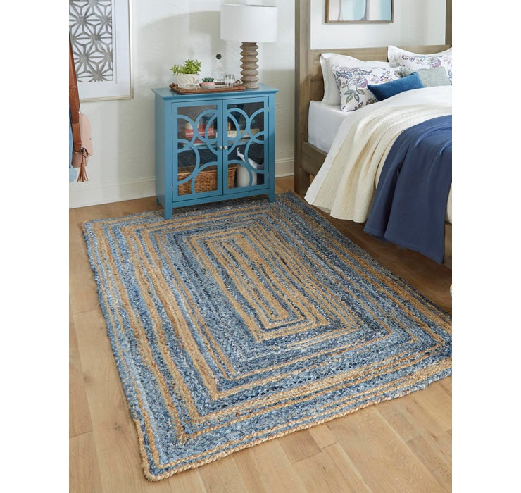 275cm x 365cm Braided Chindi Rug