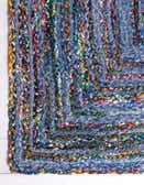 6' x 9' Braided Chindi Rug thumbnail