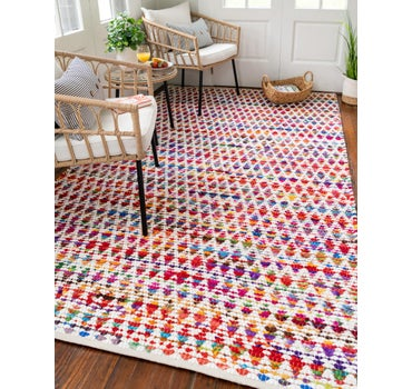 2' x 3' Braided Chindi Rug main image