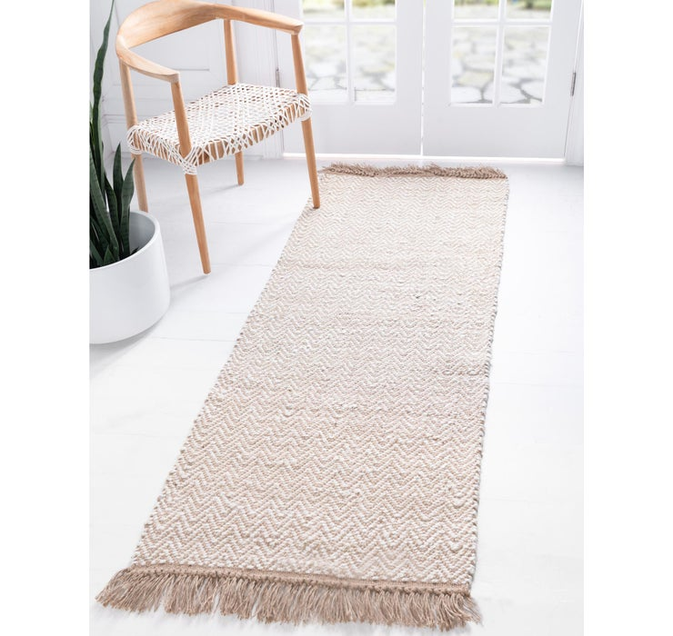 75cm x 183cm Braided Jute Runner Rug