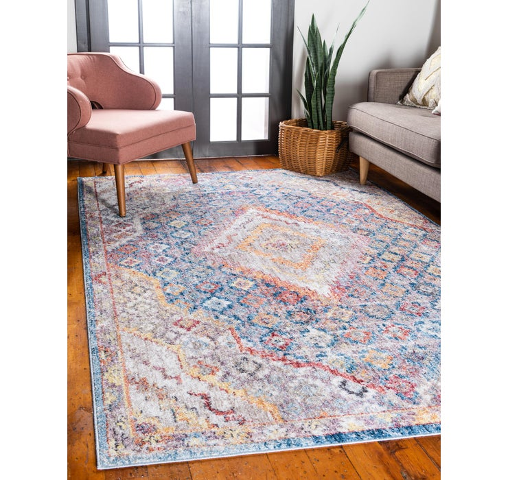 Blue Williamsburg Rug