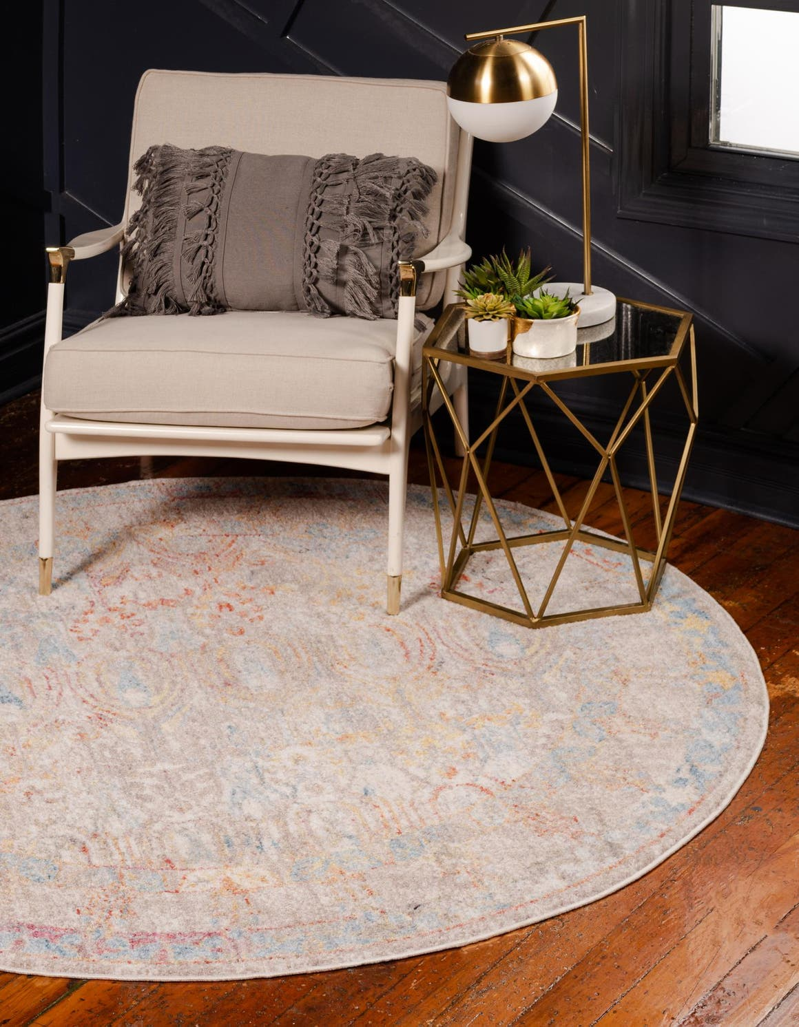 3' 3 x 3' 3 Brooklyn Round Rug main image