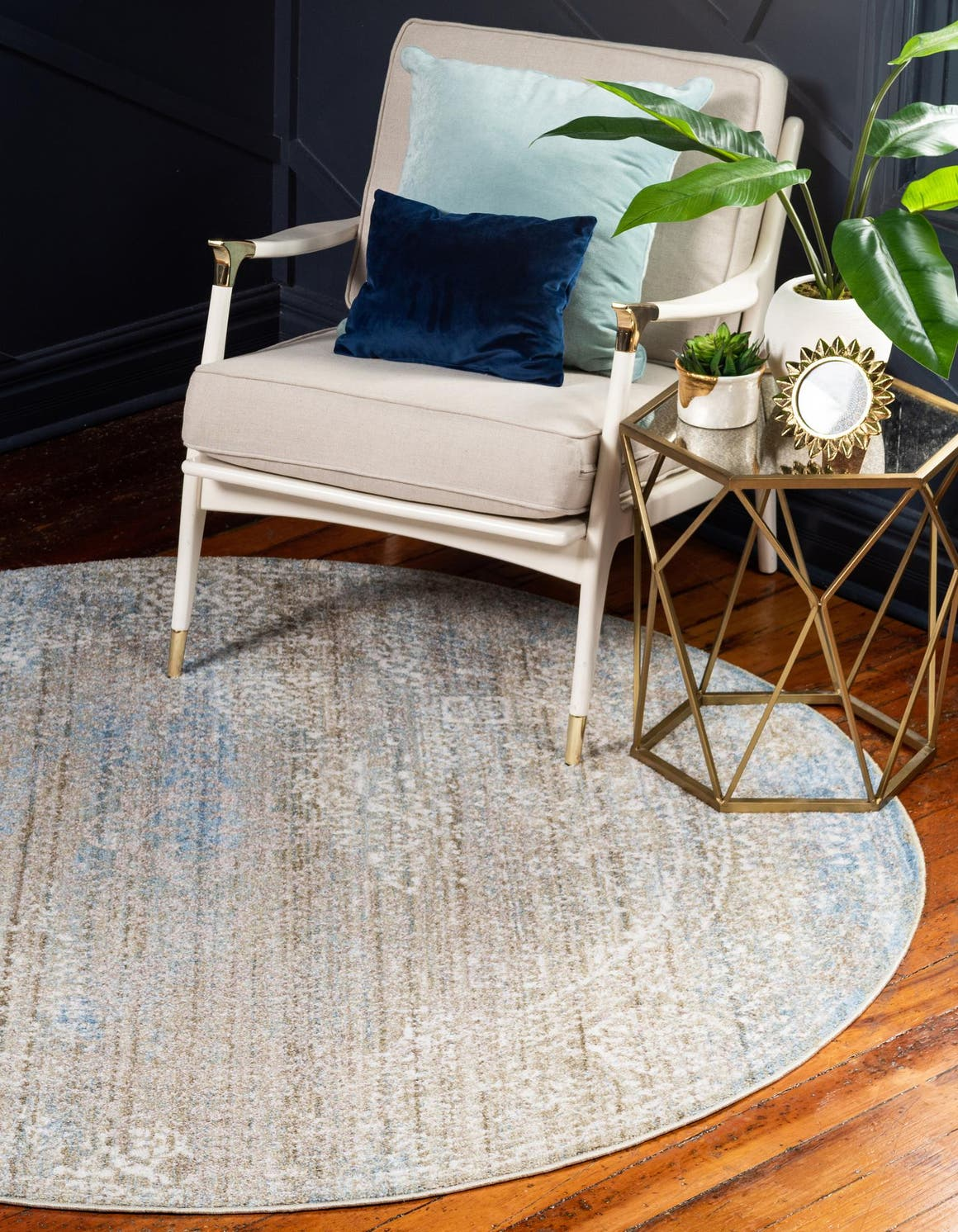 6' x 6' Brooklyn Round Rug main image