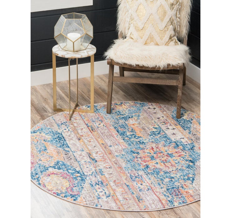 Image of 245cm x 245cm Madrid Round Rug