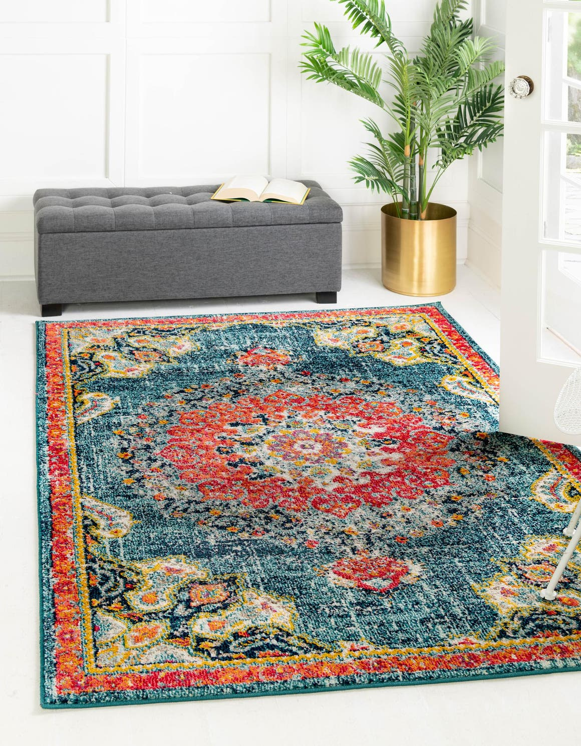 8' x 10' Carrington Rug main image
