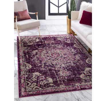 Image of  Purple Madeline Rug