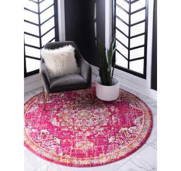 Image of 6' x 6' Carrington Round Rug