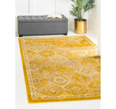 Image of  Yellow Madeline Rug