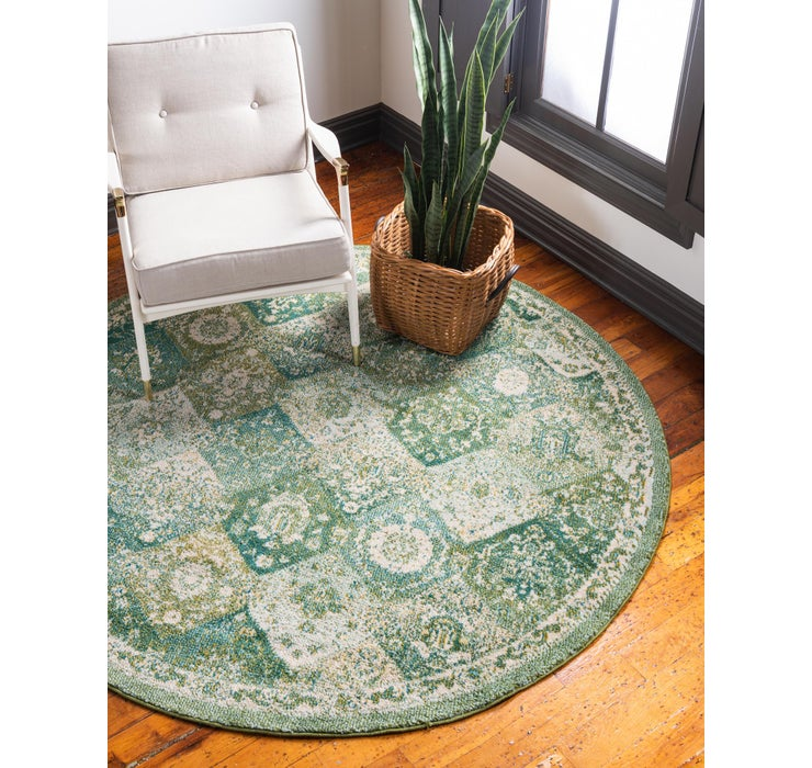100cm x 100cm Carrington Round Rug