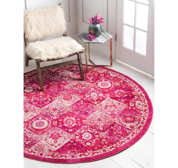 3' 3 x 3' 3 Carrington Round Rug