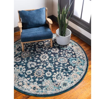 3' 3 x 3' 3 Carrington Round Rug main image