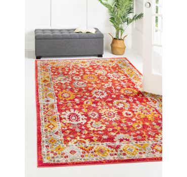 Image of  Rust Red Madeline Rug