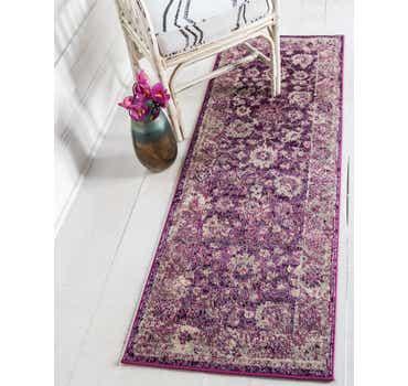 Image of  Purple Madeline Runner Rug