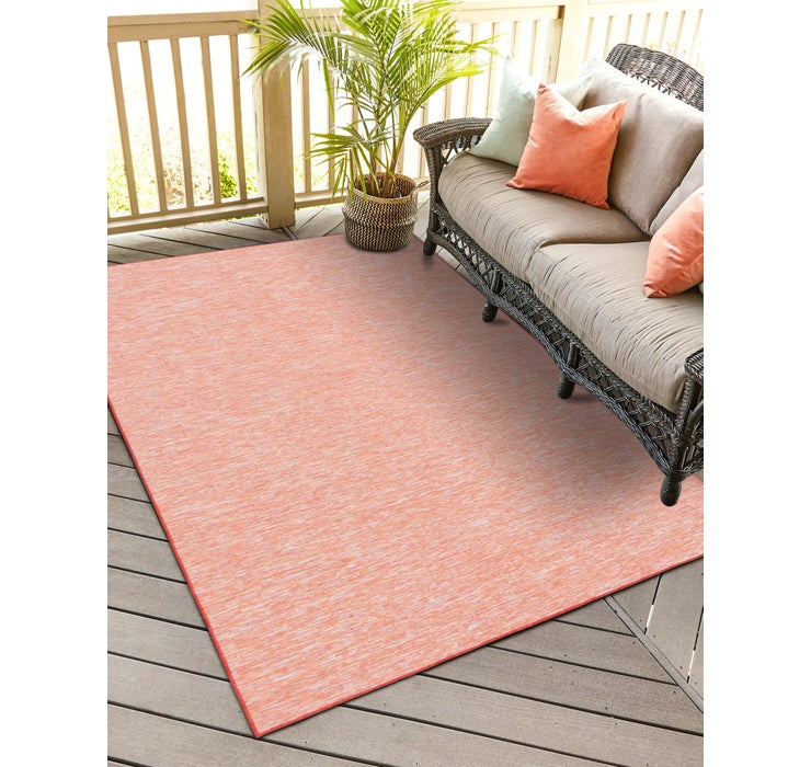 Image of 4' 2 x 6' Outdoor Solid Rug