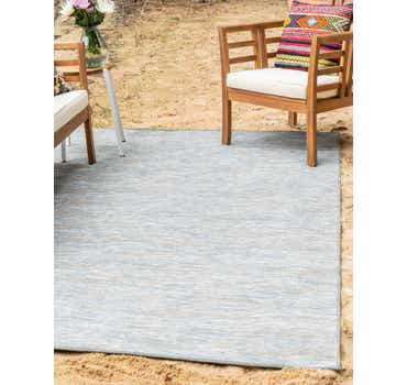 Image of  Blue Outdoor Basic Rug
