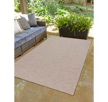 Image of 8' 4 x 11' 4 Outdoor Solid Rug