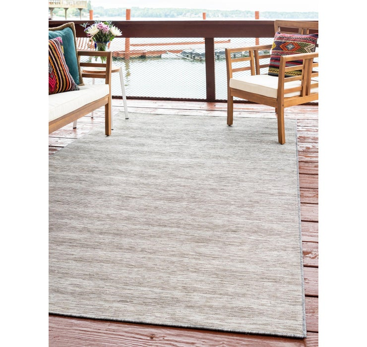 255cm x 345cm Outdoor Solid Rug