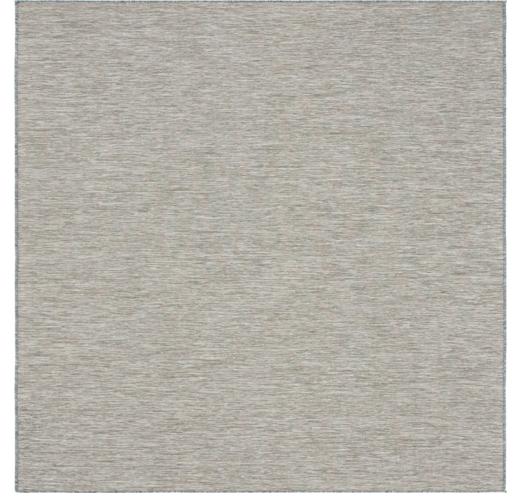 10' 2 x 10' 3 Outdoor Solid Square Rug