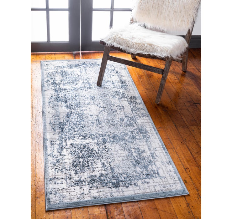 Blue Derbyshire Runner Rug