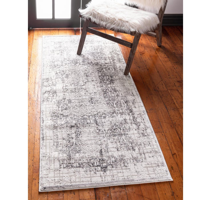 Gray Derbyshire Runner Rug