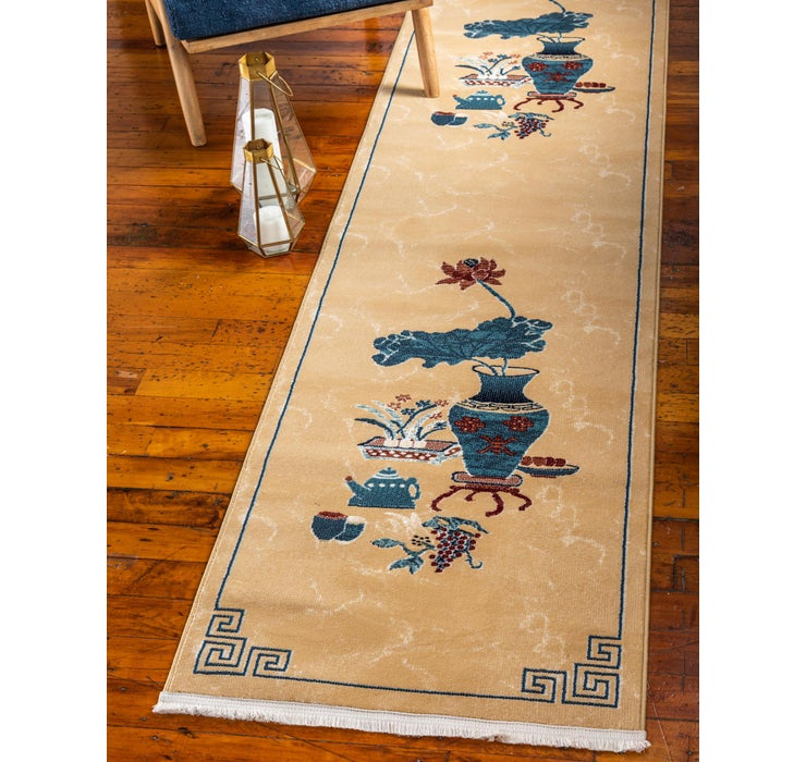 Image of 2' 7 x 10' Pao Tou Runner Rug