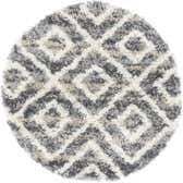 3' 3 x 3' 3 Lagom Shag Round Rug thumbnail