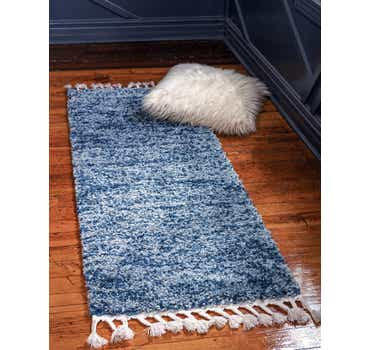 Image of Blue The Groove Runner Rug