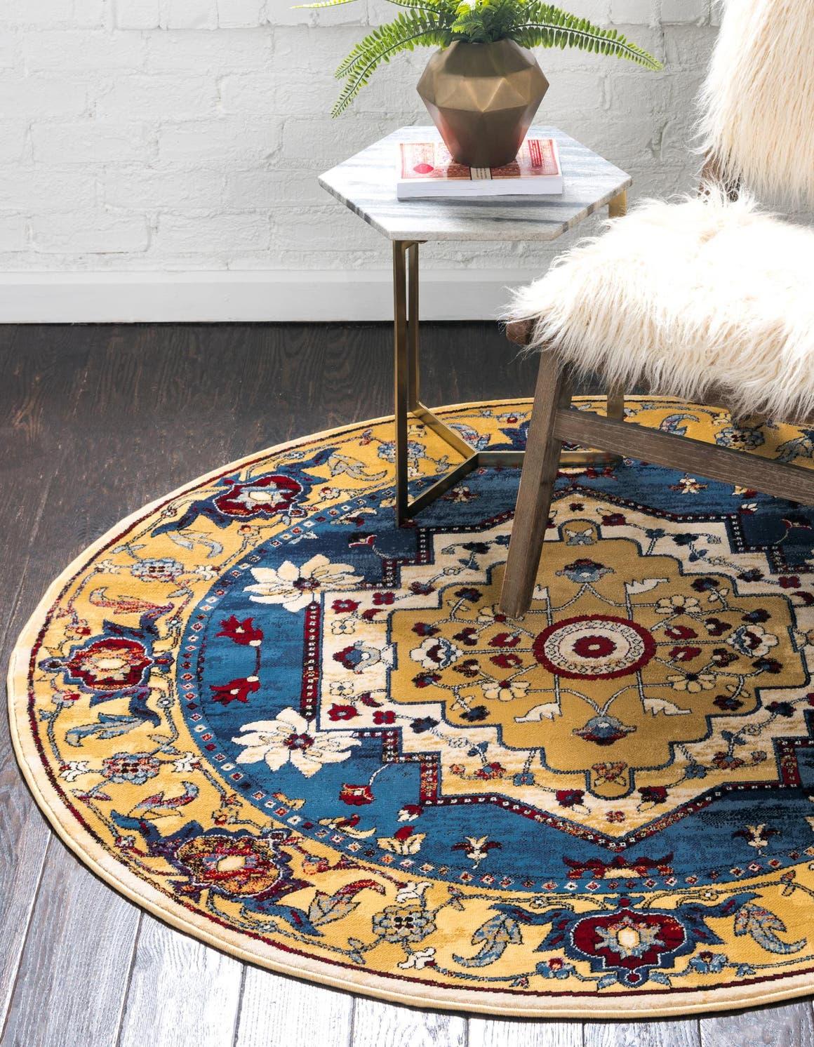5' x 5' Georgetown Round Rug main image