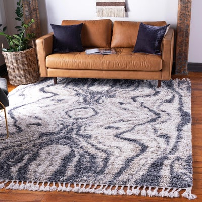 Abstract Shag Rugs