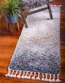 65cm x 183cm Lagom Shag Runner Rug thumbnail image 1
