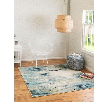5' x 5' Spectrum Square Rug main image