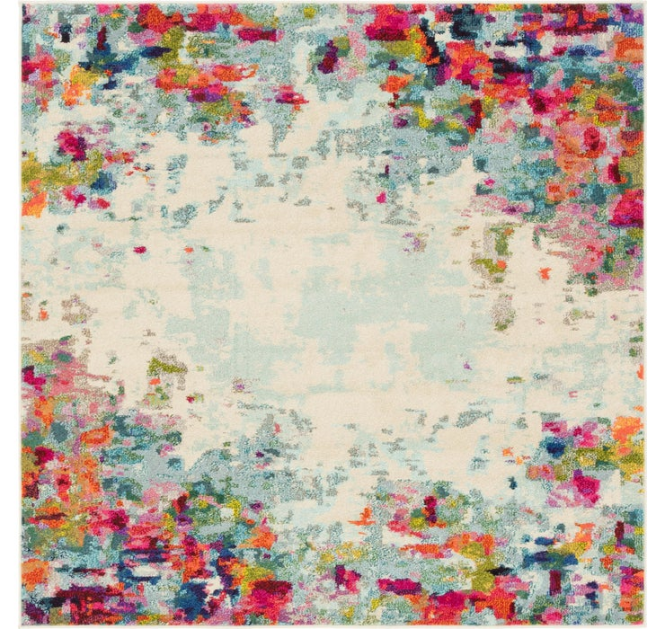 Image of 6' x 6' Spectrum Square Rug