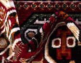 9' 10 x 13' Gharajeh Rug thumbnail