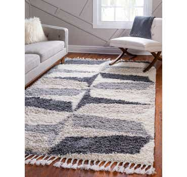 Image of Gray The Groove Rug