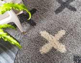 5' x 5' Athena Shag Round Rug thumbnail