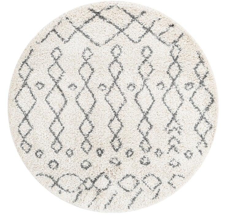 5' x 5' Moroccan Shag Round Rug
