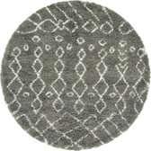 5' x 5' Marrakesh Shag Round Rug thumbnail