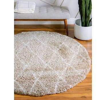 5' x 5' Marrakesh Shag Round Rug main image